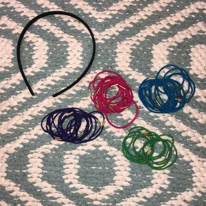 Headbands and hair ties